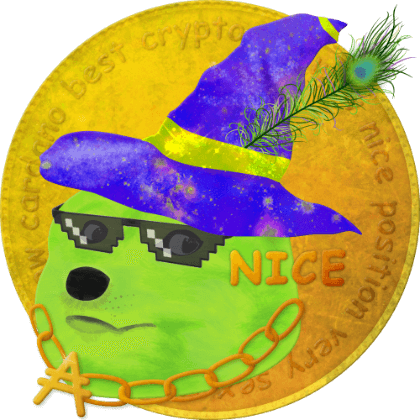 WIZDOGE Pimp, an NFT created to reward holders and supporters.